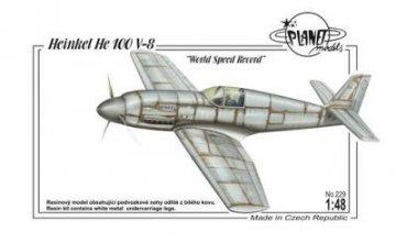 Heinkel He 100 V-8 World Speed Record · PLM 229 ·  Planet Models · 1:48