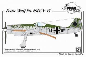 Focke-Wulf Fw 190 C V-15 · PLM 230 ·  Planet Models · 1:72