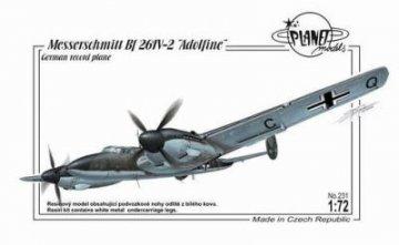 Messerschmitt Bf 261V-2 Adolfine · PLM 231 ·  Planet Models · 1:72