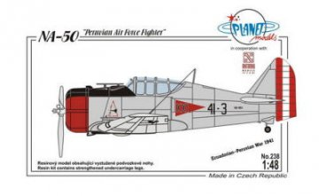 NA-50 Peruvian Air Force Fighter · PLM 238 ·  Planet Models · 1:48