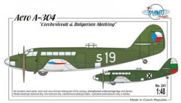 Aero A-304 Czechoslovak & Bulgarian S. · PLM 241 ·  Planet Models · 1:48