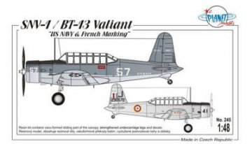 SNV-1/BT-13 Valiant · PLM 245 ·  Planet Models · 1:48