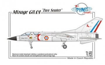 Dassault Mirage G8-01 France, Modern · PLM 246 ·  Planet Models · 1:72