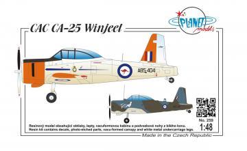 CAC CA-25 Vinjeel · PLM 259 ·  Planet Models · 1:48