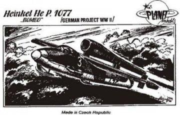 Heinkel He P.1077 Romeo · PLM CM48011 ·  Planet Models · 1:48