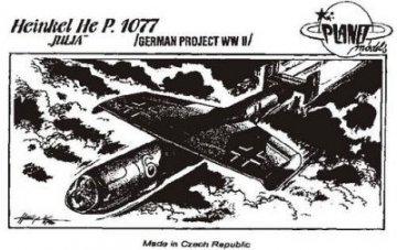 Heinkel He P 1077 Julia · PLM CM48012 ·  Planet Models · 1:48