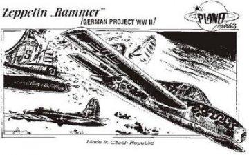 Zeppelin Rammer · PLM CM48029 ·  Planet Models · 1:48