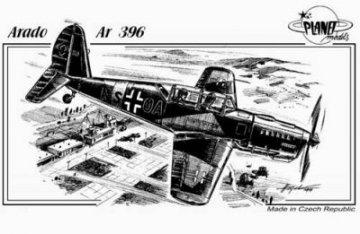 Arado Ar-396 · PLM CM48057 ·  Planet Models · 1:48
