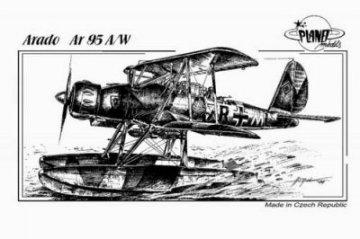 Arado Ar-95 A/W · PLM CM48058 ·  Planet Models · 1:48