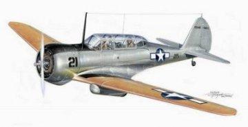 Curtiss Cw-22 SNC-1 Falcon · PLM CM48107 ·  Planet Models · 1:48