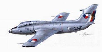 Aero L-29 Delfin · PLM CM48124 ·  Planet Models · 1:48