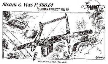 Blohm & Voss BV P.196.01, · PLM CM72031 ·  Planet Models · 1:72