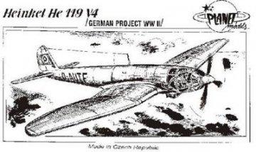 Heinkel He 119 V-4 · PLM CM72034 ·  Planet Models · 1:72