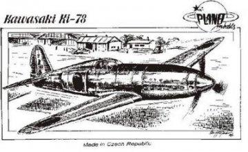 Kawasaki Ki-78 · PLM CM72037 ·  Planet Models · 1:72
