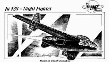 Junkers Ju 128 Night Fighter · PLM CM72055 ·  Planet Models · 1:72