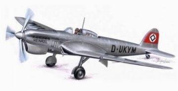 Heinkel He 118 V-1 · PLM CM72109 ·  Planet Models · 1:72