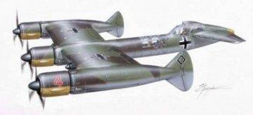 Blohm & Voss P.170 Schnell Bomber · PLM CM72115 ·  Planet Models · 1:72