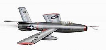 Republic XF-91 Thunderceptor V-tail version · PLM CM72129 ·  Planet Models · 1:72