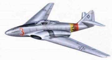 Messerschmitt Me 262 HG III · PLM CM72131 ·  Planet Models · 1:72