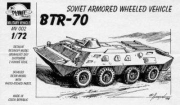 BTR-70 Arm. Vehicle, 4 Achser 18 Resin, Fotoätzteile. · PLM CMV72002 ·  Planet Models · 1:72