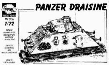Panzer Draisine, Super Qualität · PLM CMV72006 ·  Planet Models · 1:72