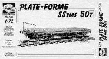 Plate Forme Ssyms 50 Ton · PLM CMV72008 ·  Planet Models · 1:72
