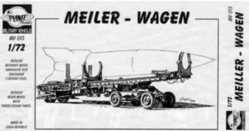 Meiller Wagen, Für V2. · PLM CMV72013 ·  Planet Models · 1:72