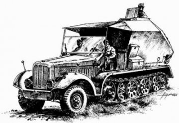 Sd.Kfz 7/3 Feuerleitpanzer · PLM CMV72015 ·  Planet Models · 1:72