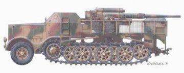 SdKfz. 9 FAMO 18 ton with 8,8cm Flak · PLM CMV72032 ·  Planet Models · 1:72