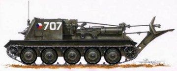 T-34 Bergefahrzeug · PLM CMV72041 ·  Planet Models · 1:72