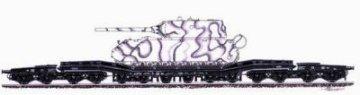 Transportwagen - Maus · PLM CMV72045 ·  Planet Models · 1:72