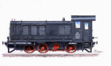 WR 360 C14 Diesel Lokomotive · PLM CMV72053 ·  Planet Models · 1:72