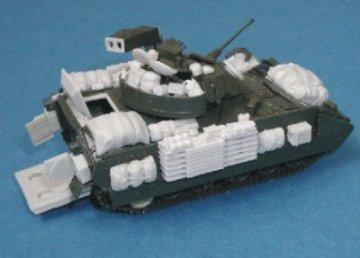 M2A2 Bradley - Irak Krieg Zusatzausrüstung, Iraq war equipment set. · PLM CMV72063 ·  Planet Models · 1:72