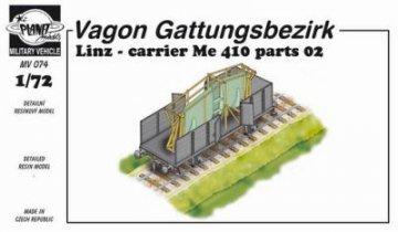 Wagon Linz carrieer Me 410 Pt. II · PLM MV074 ·  Planet Models · 1:72