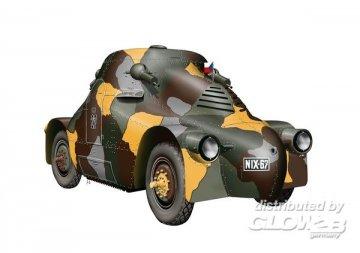 Skoda PA.II Turtle Czech.armoured car · PLM MV090 ·  Planet Models · 1:72