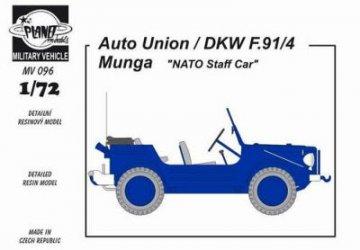 Auto-Union/DKW F91/4 Munga ´NatoStaffcar · PLM MV096 ·  Planet Models · 1:72