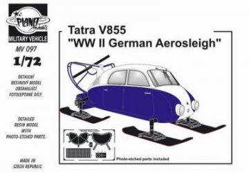 Tatra V855 Snowmobile · PLM MV097 ·  Planet Models · 1:72