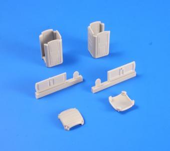 Portable Toilet TOI TOI (2 pcs) · PLM MV109 ·  Planet Models · 1:72