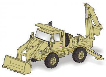 Unimog FLU 419 SEE US Army-full resin kit · PLM MV119 ·  Planet Models · 1:72