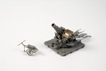 Austro-Hungarian WWI 30,5cm Belagerungsmörser M.11 · PLM MV121 ·  Planet Models · 1:72