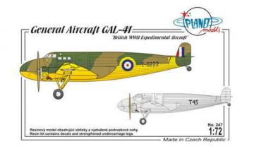 General Aircraft GAL-41 · PLM PLT247 ·  Planet Models · 1:72