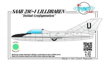 SAAB 210-I LILLDRAKEN Initial Configurat · PLM PLT263 ·  Planet Models · 1:72
