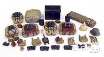 German rucksack WWI · PM 349 ·  plusmodel · 1:35