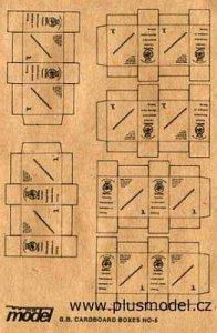 GB Faltkartons WW II · PM 35013 ·  plusmodel · 1:35