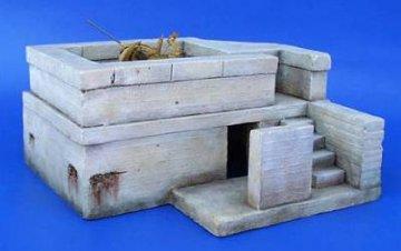 Deutscher Flak Bunker WW II · PM 35046 ·  plusmodel · 1:35