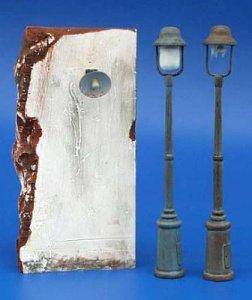 Straßenlampen - Set 2 · PM 35053 ·  plusmodel · 1:35