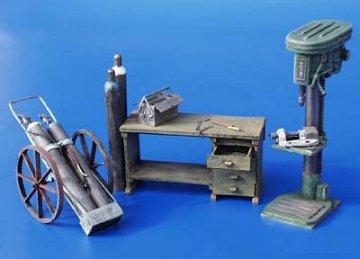 Werkstatt Einrichtung · PM 35094 ·  plusmodel · 1:35