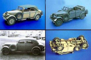 Skoda Typ 952 Kabrio WW II · PM 35100 ·  plusmodel · 1:35