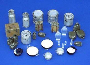 Küchenzubehör Deutschland WWII · PM 35116 ·  plusmodel · 1:35