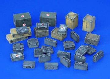 Munitions- und Medizinbehälter WW II · PM 35117 ·  plusmodel · 1:35